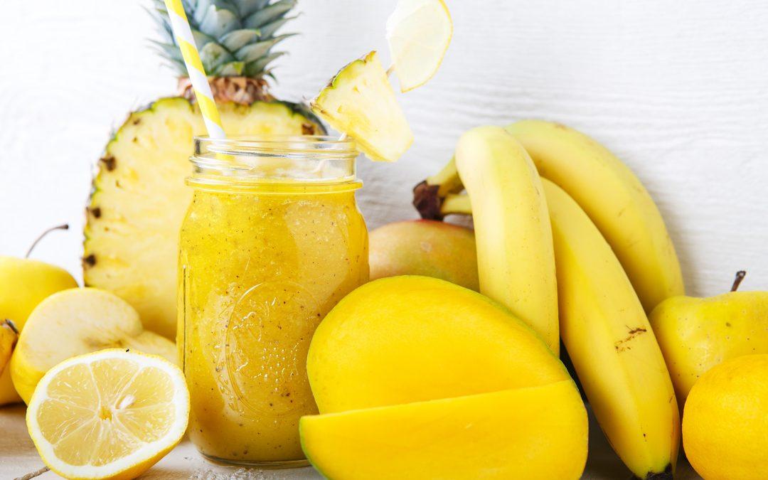 Mango-grenivka-banana smuti