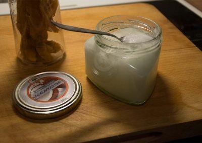 Mangov sladoled z Afrotero - kokosovo olje